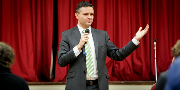 Green Party co-leader James Shaw has taken on greater responsibility in a reshuffle of the caucus. Picture: Warren Buckland