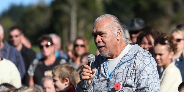 Tuhoronuku chairman Hone Sadler. Photo/ Michael Cunningham