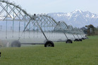 The scheme will irrigate 50,000 hectares of dairy, horticulture and stock land between the Rakaia and Waimakariri Rivers. Photo / NZPA