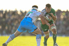 Whangarei's Jake Heenan made his comeback for Connacht but wasn't able to lift them to a win over Scarlets in the Pro12 competition. Stephen McCarthy/Getty Images