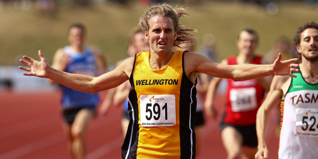 Hamish Carson will anchor the Wellington Scottish team. Photo / Getty Images
