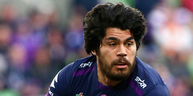 Storm second rower Tohu Harris says his team's tactics in the tackle are  attempts to slow play and not dangerous. Picture / Getty Images