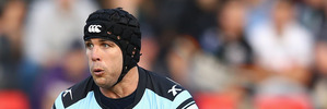 Michael Ennis of the Sharks. Photo / Getty Images