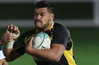 Losi Filipo (right) ended his contract with Wellington Lions under mounting public pressure. Photo / Getty Images