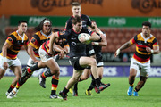 Johnny McNicholl of Canterbury on the move during the round seven Mitre 10 Cup match between Waikato and Canterbury. Photo / Getty Images