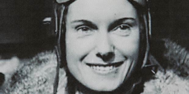 Loading Jean Batten, the great New Zealand aviatrix. Photo / Herald files