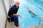 Richard Dunkerton received an Honours Award from Swimming New Zealand for ongoing service to the sport. Photo/John Stone