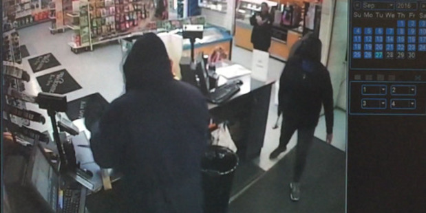 Three people robbed the BP in Moerewa of cash and cigarettes.
