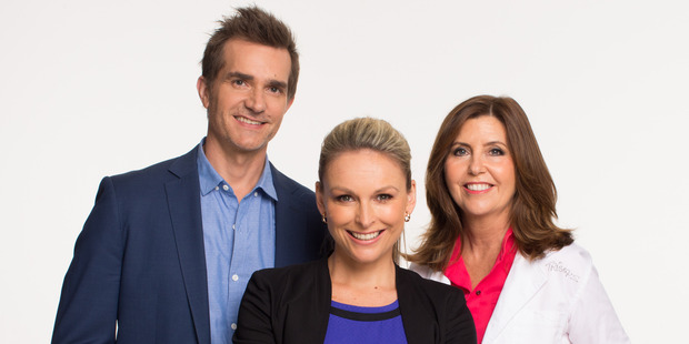 Married At First Sight's panel of experts: John Aiken, Mel Schilling and Dr Trisha Stratford. Photo / Supplied