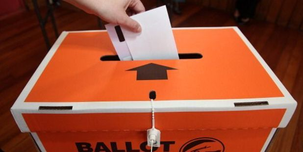 Voters need to mail their ballot by Wednesday 5 October so it arrives on time. After that people can use ballot boxes at 55 libraries and nine service centres around the region.