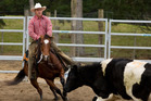 COWBOY: A rider demonstrates his Wild West skill. PHOTO/Stephen Barker