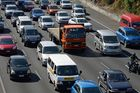 A breakdown is causing major congestion on the motorway leading to  Auckland Airport this morning.  Photo / File