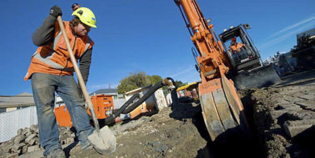 Senior staff were also being moved from incomplete SCIRT projects to work on private ones within the five contracting companies. Photo / Christchurch Star