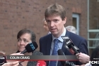 Colin Craig's media statement outside the Auckland Court, following his recent conviction for defamation.