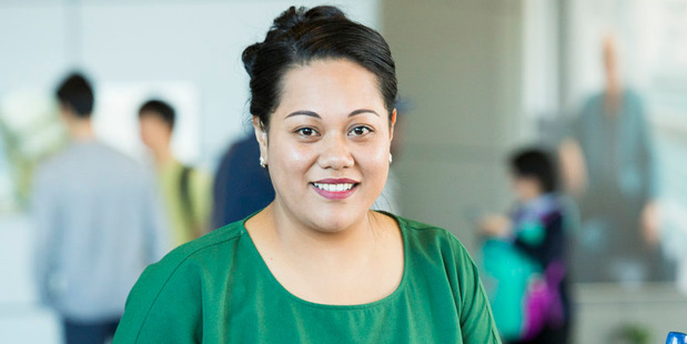 Sisikula Sisifa is one of the first two Pasifika academics to work at the University of Auckland's business school. She graduates with a PhD on Tuesday. Photo/ supplied