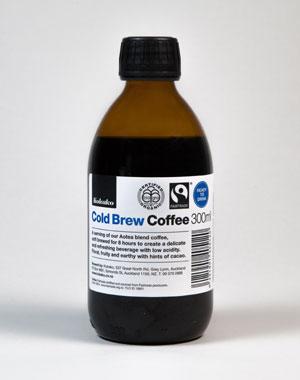 Kokako's cold brew coffee. Photo / Josh Griggs