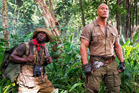 Kevin Hart and The Rock are set to star together in the new Jumanji movie. Photo / Instagram