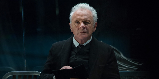 Sir Anthony Hopkins as Dr Robert Ford in a scene from Westworld.