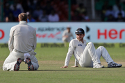 Kane Williamson missed the team's final training at Kolkata due to illness.