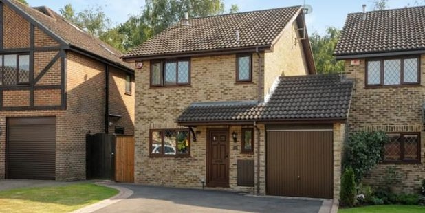 A Berkshire house better known as No 4 Privet Drive, home to the Dursleys in the Harry Potter films.