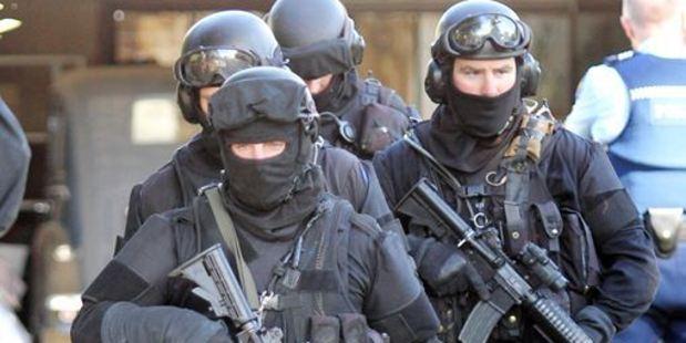 The Tauranga AOS were in Te Puke today raiding a property. Photo/file