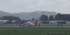 Watch: Watch: Light aircraft makes emergency landing at Ardmore Airport