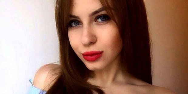 Ariana, 20, from Russia is auctioning her virginity on an escort website. Photo / Cinderella Escorts