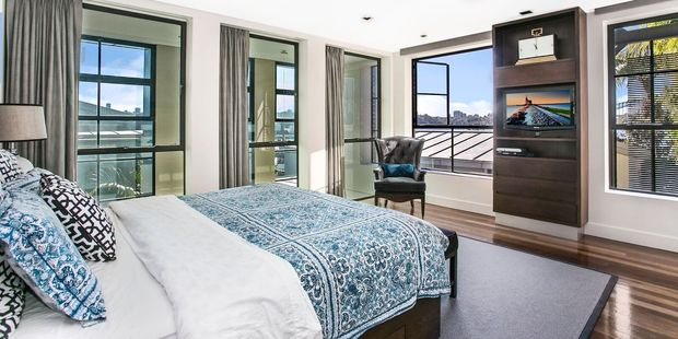 One of the Wharf Birchgrove's bedrooms. Photo / Supplied