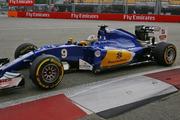 Sauber driver Marcus Ericsson. Photo / AP