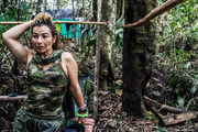Yurluey Mendoza, 33, is a FARC fighter who joined the rebels at age 14, and is preparing to re-enter the modern world after years at war. Photo / The Washington Post / Joao Pina