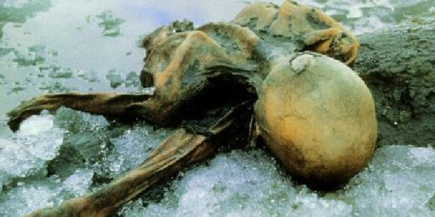 Hikers stumbled across Otzi's remains in 1991.