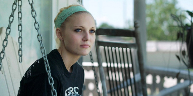 Daisy Coleman in a scene from the Netflix documentary Audrie and Daisy. Photo / Netflix