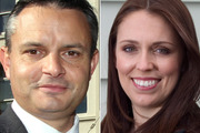 The Greens' James Shaw and Labour's Jacinda Ardern rate well with CEOs.
