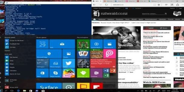 Windows 10 is a very different beast compared to what Microsoft's done in the past. Screenshot / Juha Saarinen