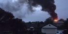 Watch: Watch: Fire on Abbotts Way in Auckland