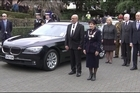 Dame Patsy, a lawyer who has held a number of board positions, has had a strong involvement in the arts and was chair of the Film Commission.  A powhiri and haka greeted Dame Patsy and Sir David as they arrived for the pomp of her official swearing in as Governor-General.  Dame Patsy took the Royal Salute and inspected a guard made up of personnel from the Navy, Army and Air Force.