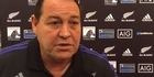 Watch: Watch: Steve Hansen discusses All Blacks team to face the Pumas