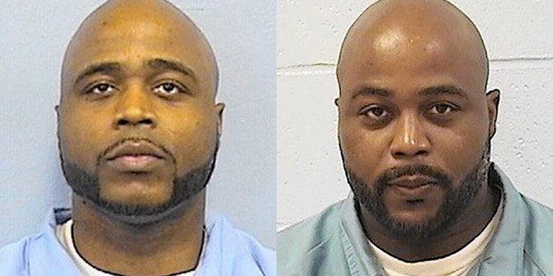 Karl Smith and Kevin Dugar. Photo / Illinois Department of Corrections