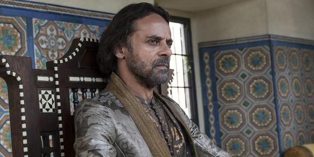 Alexander Siddig as Doran Martell in Game of Thrones. Photo / HBO