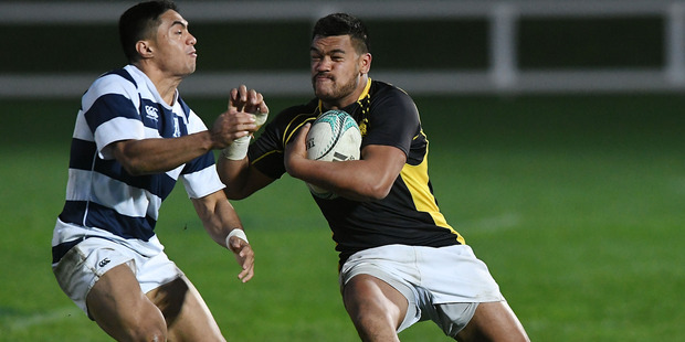 Wellington rugby player Losi Filipo, right, was discharged without conviction. Photo / Getty Images
