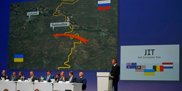 Tapped phone conversations were among the most critical pieces of evidence into the MH17 crash. Photo / AP