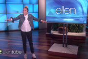 Miley Cyrus hosts the Ellen show.