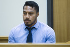 All Black George Moala appeared in Auckland District Court for sentencing after he was found guilty for his part in a bar fight.