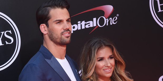 With Jets wide receiver Eric Decker in the thick of his seventh NFL season, his wife makes sure there's still time for them to get down to business after practice. Photo / Getty Images.