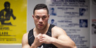 To challenge for Joshua's title, first Parker must beat Alexander Dimitrenko in Manukau a week on Saturday. Photo / Dean Purcell