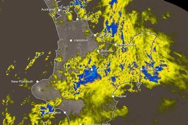 Rain that lashed much of the country over the weekend is expected to continue. Photo / Metservice