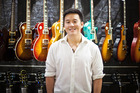 Kuok Meng Ru, co-founder of Bandlab, at a Swee Lee Holdings Pte music store in Singapore in July 2016. Photo / Bloomberg