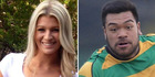 Kelsey Odell said she now suffers from debilitating panic attacks after being punched in the face by Losi Filipo. Photo / Supplied