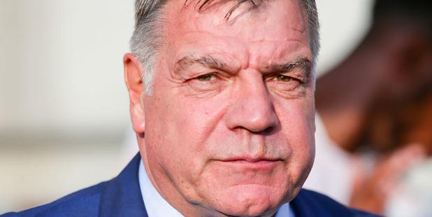 Axed England manager Sam Allardyce. Photo / AP