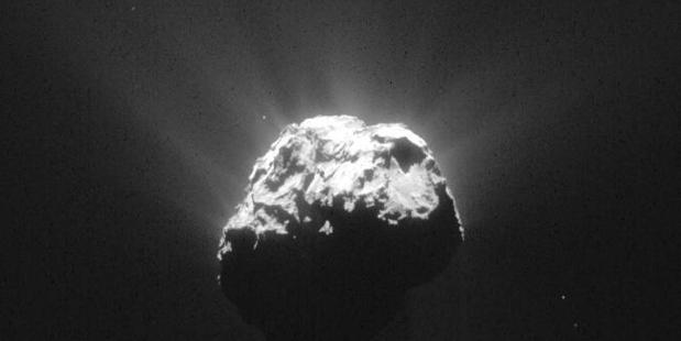 The Rosetta spacecraft will crash into Comet 67P after a 12-year journey on Friday. Picture: ESA/Rosetta/NAVCAM.